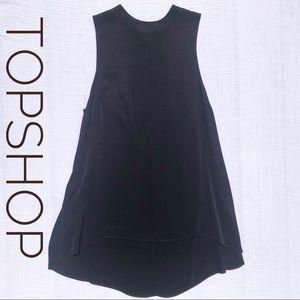TOPSHOP High Neck Dress
